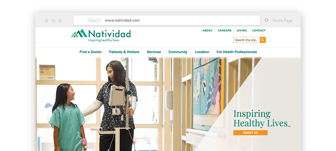 Natividad Website View