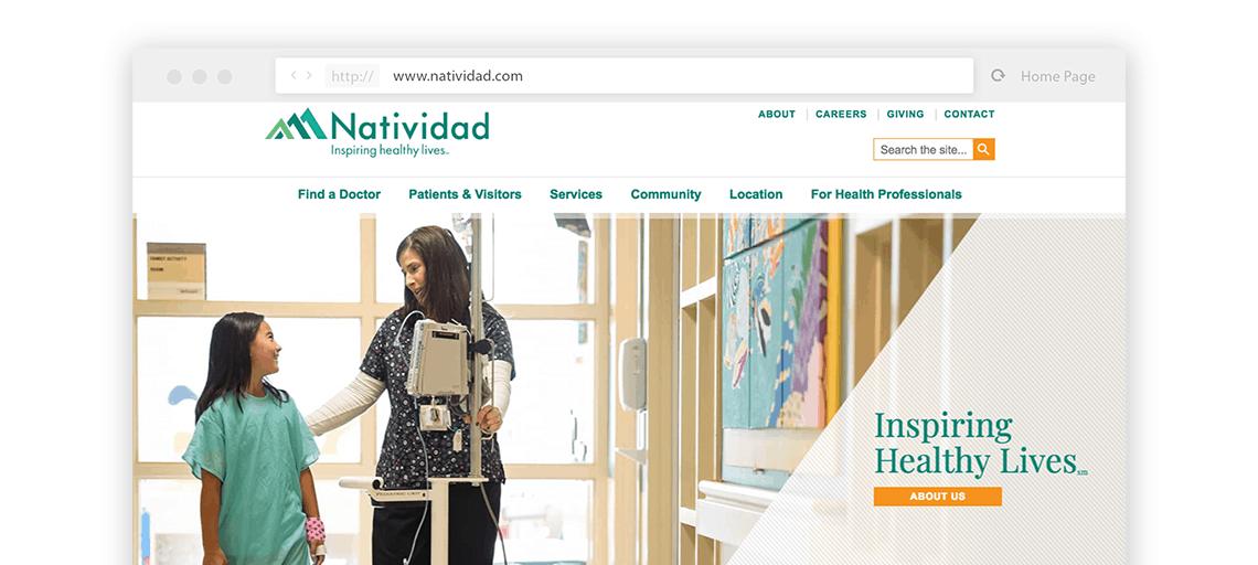 Natividad Website View