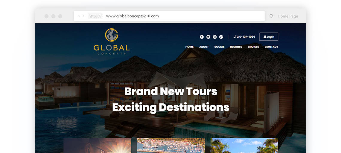 global concepts website preview