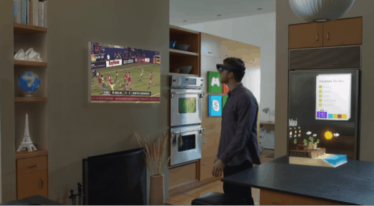 Using HoloLens apps at home