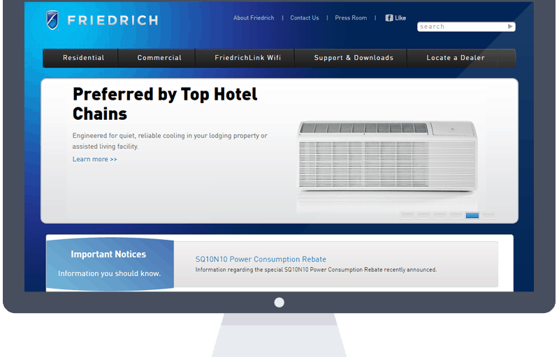 friedrich website