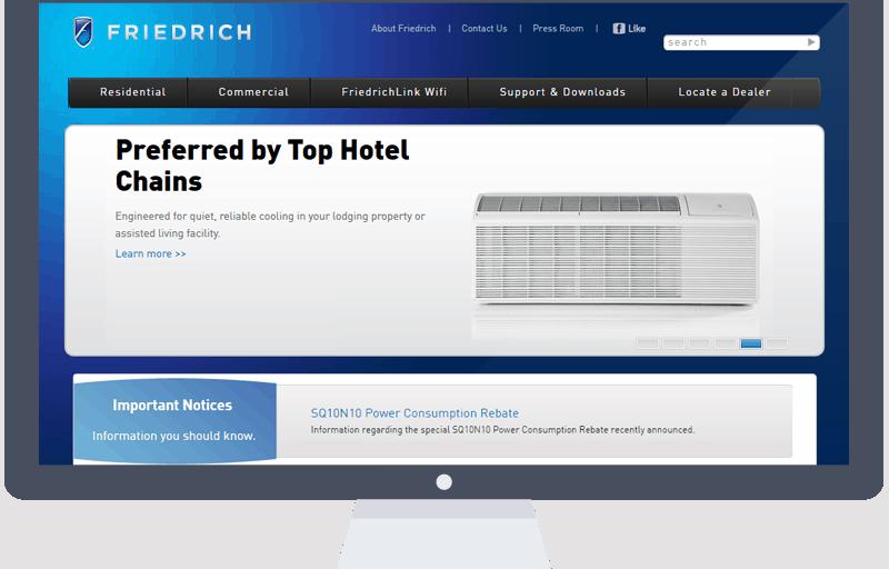 friedrich website