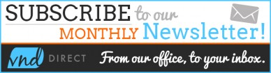 subscribe to our newsletter vnd banner