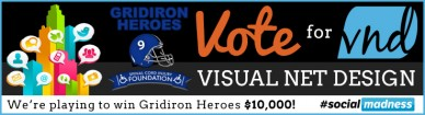 vnd gridiron heroes donation banner