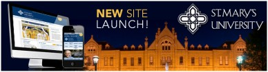 st marys new site launch banner